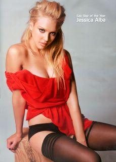Jessica Alba in lingerie