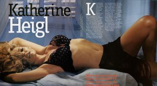 Katherine Heigl from TV's Grey's Anatomy in lingerie