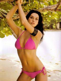 Kim Smith Pink Bikini