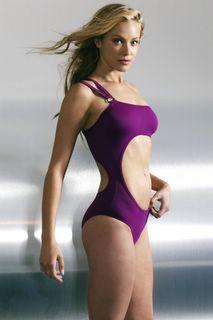 Kristanna Loken in a swimsuit