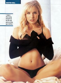 Kristen Bell is looking really hot