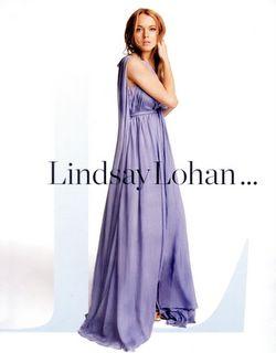 Lindsay Lohan InStyle