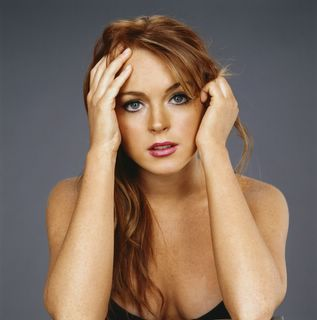 Lindsay Lohan can be quite cute at times