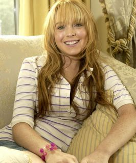 Lindsay Lohan looking even cuter
