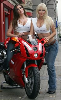 Michelle Marsh and Lucy Pinder