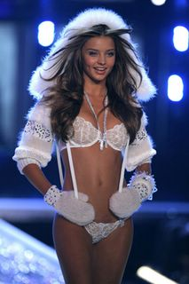 Miranda Kerr in lingerie at the Victorias Secret Fashion Show