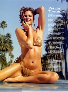 Yesica Toscanini in Sports Illustrated