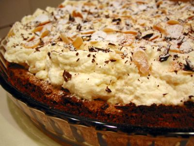 Almond Apricot Torte