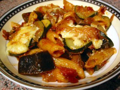 Pasta & Vegetable Gratin