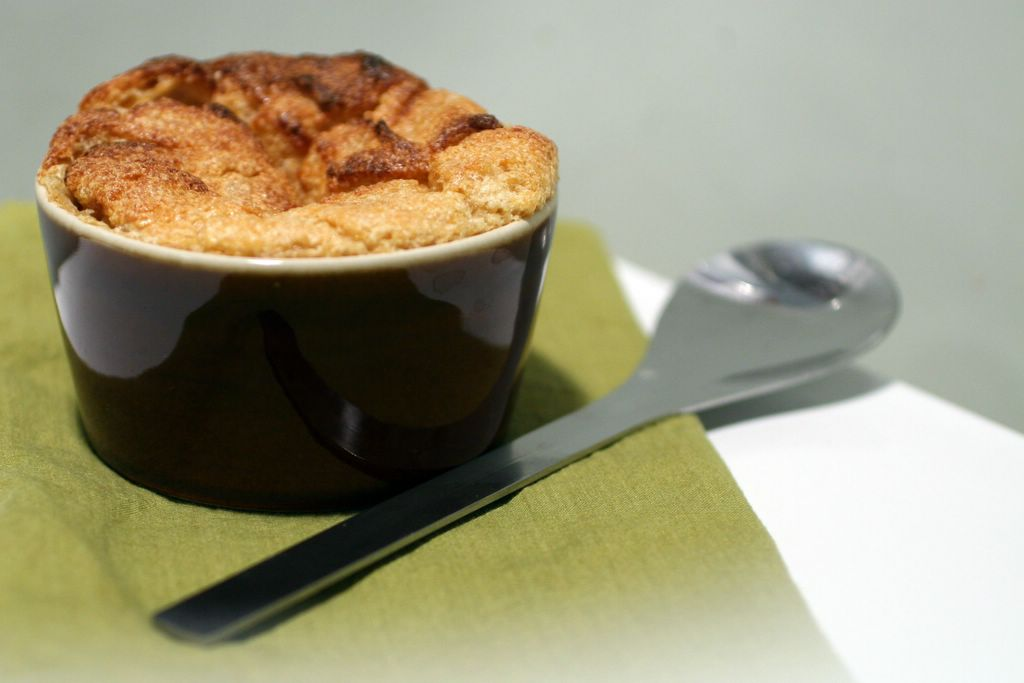 photograph picture of orange-sweetened souffles