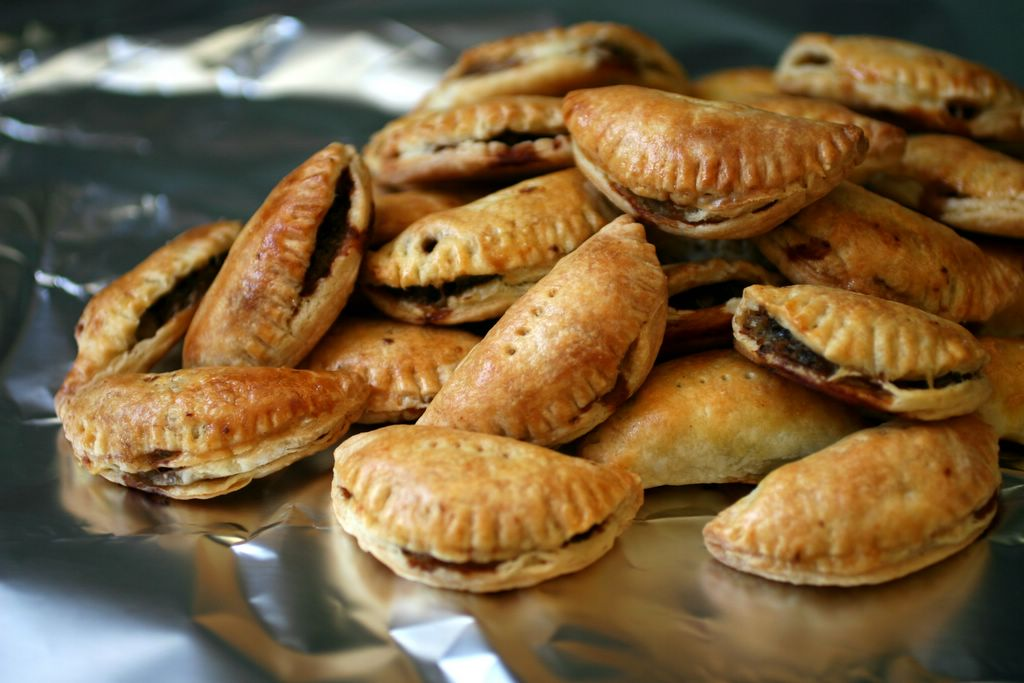 photograph picture recipe how to make fancy Philly Cheesesteak Turnovers pasties pies