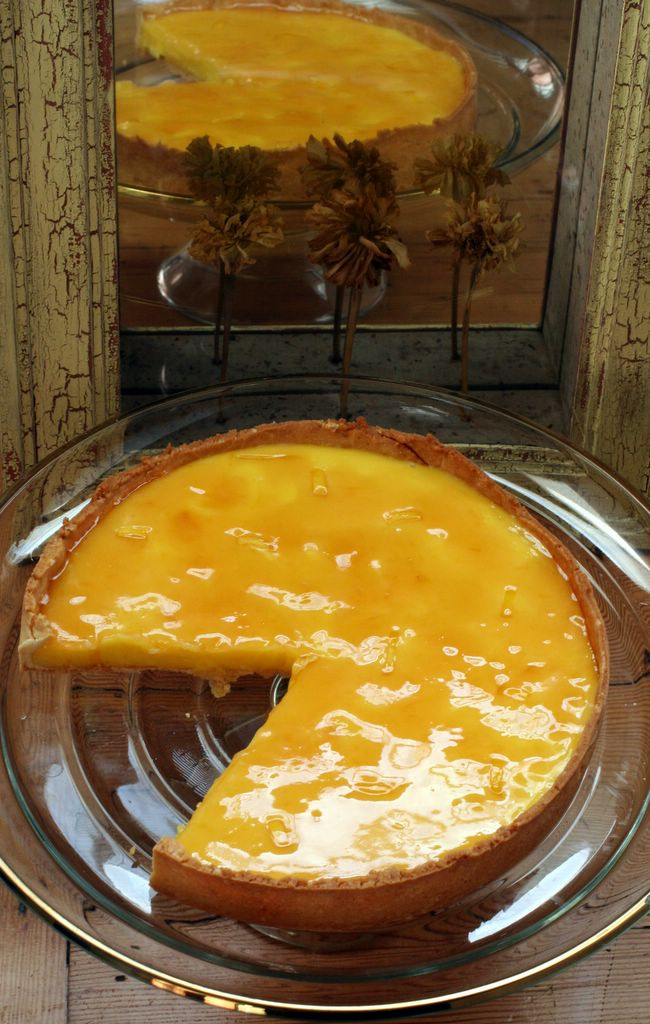 photograph picture tarte au citron lemon tart made using a pierre herme recipe