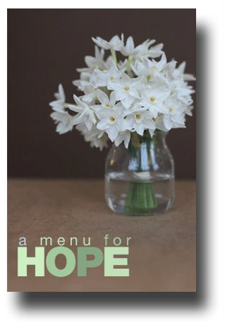 photograph picture a menu for hope