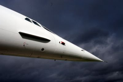 photograph picture of concorde at filton