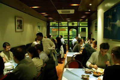 photograph picture of the Maharani, soho, indian restaurant new decor