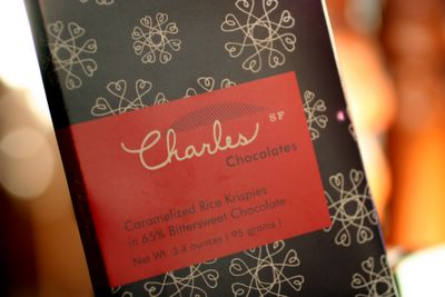photograph picture of charles chocolate bar from san francisco