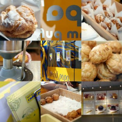 photograph picture beard papa cream puffs in their san francisco location