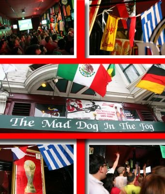 photograph picture mad dog in the fog pub san francisco world cup football 2006, where to watch english football soccer matches and league in the san francisco bay area