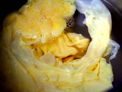 photograph picture poached scrambled eggs madeby the method described by chef daniel patterson in the new york times