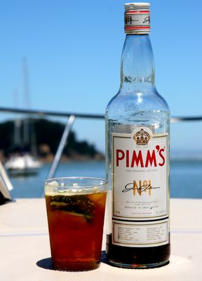 photograph picture how to make the recipe for pimms and lemonade pims and lemonade no 1 cup