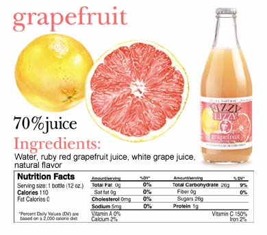 photograph picture fizzy lizzy grapefruit