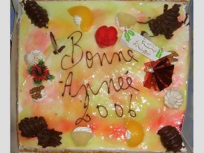 Bonne Annee 2006 Cake
