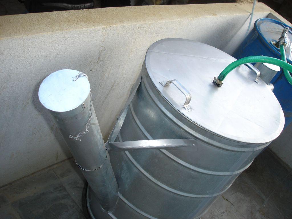 Mini Biogas Plant : Mini biogas plant srushti december