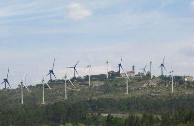 Parque eólico da Sra. do Castelo - Mangualde