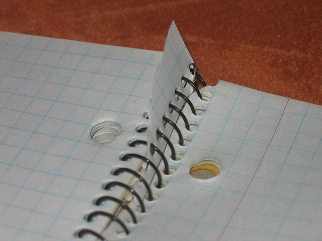 Sobre papel cuadriculado