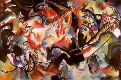 Wassily Kandinsky: Composition VI