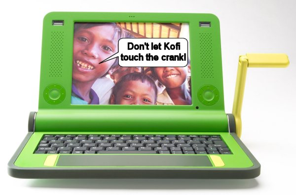 100 buck Negroponte laptop solution for poverty