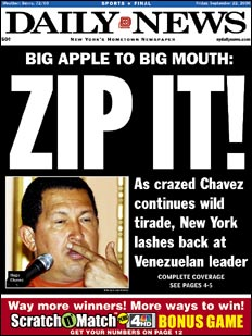 Donk act stolen by Hugo Chavez