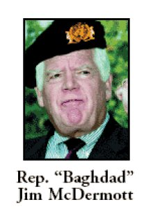 Slimeball crook Baghdad Jim McDermott