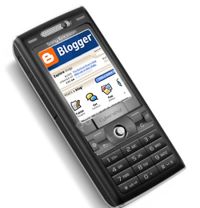 Blogger phone