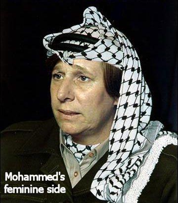 Mohammed's feminine side