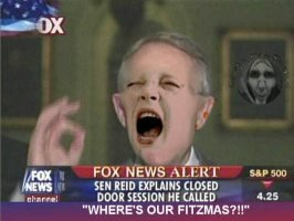 Little Harry Reid has a tantrum
