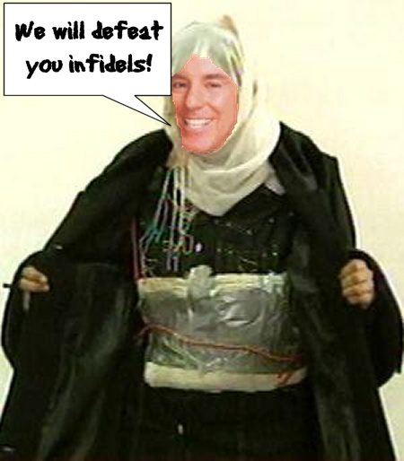 Howard Dean the terrorist bomber
