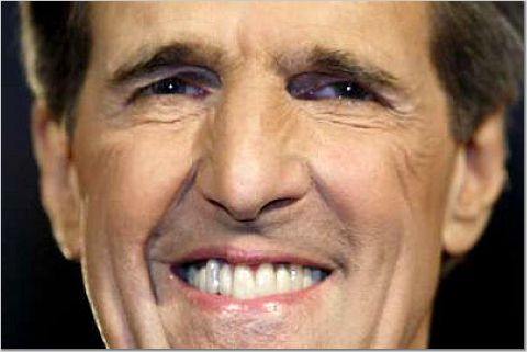 John Kerry smile
