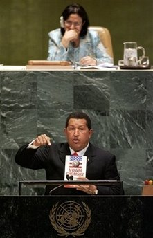 Laughing at Hugo Chavez