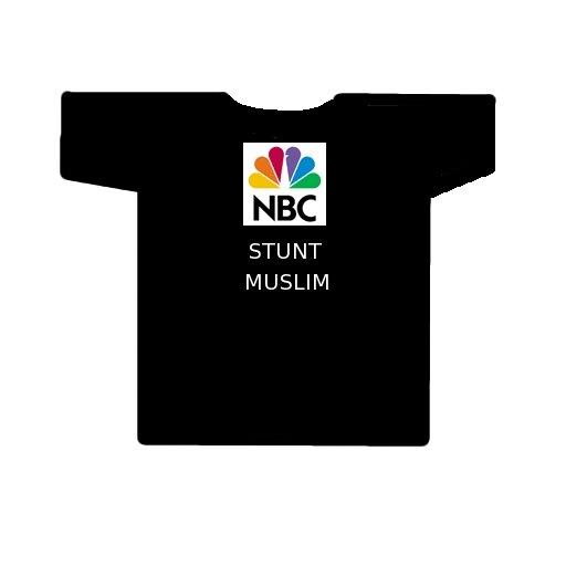 NBC stunt Muslim t-shirt