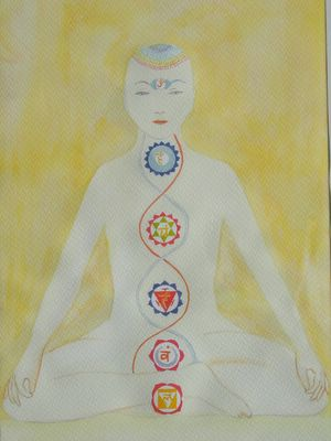 Chakras o centros de energía