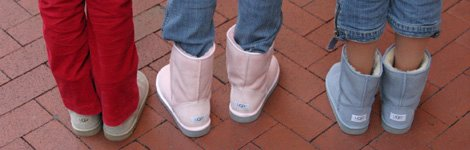 the UGG boots