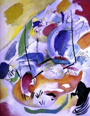 Quadros de Kandinsky