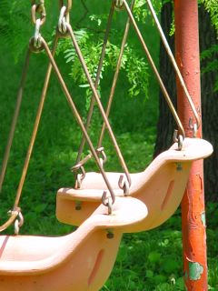 Old Summer Swingset