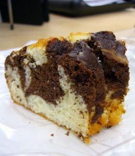 Chocolate Marble Yogurt Pound Cake Baking Bites