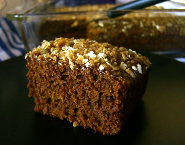 Dark Molasses Cake with Streusel | Baking Bites