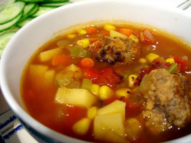 Albondigas Soup | Baking Bites