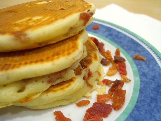 Bacon Pancakes | Baking Bites