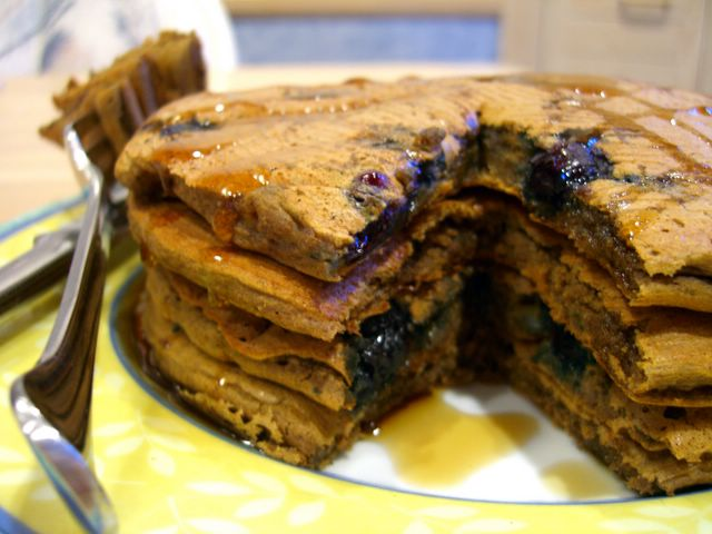 bakingsheet: Sunday Brunch: Yeasted Buckwheat Pancakes