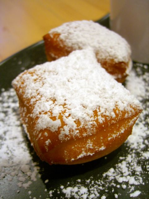 ... seem more substantial, but beignets have something special about them